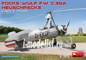 41012 MiniArt 1/35 FOCKE-WULF FW C. 30A HEUSCHRECKE. EARLY PROD