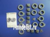 35561 Комбат 1/35 набор колёс на а/м Henshell 33 (11 шт.)