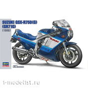 21507 Hasegawa 1/12 Мотоцикл Suzuki GSX-R750(G) (GR71G) 1986