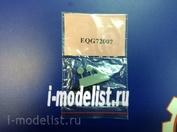 EQG72007 Экипаж 1/72 Резиновые колёса для Як-9У, УМ, П