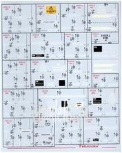 D87003 Zebrano 1/87 Декаль Теплушка 1. Российские ж/д
