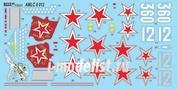 AMLC 8 013 AML 1/48 Декаль для Soviet Aces in Yakovlev Yak-3's   2 decal versions : Yak-3, Part II