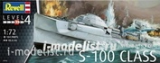 05162 Revell 1/72 German ship Fast Attack Craft S-100