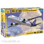 7033 Zvezda 1/144 MS-21-300 Passenger airliner