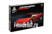 3685 Italeri 1/24 Автомобиль Lamborghini Diablo