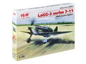 48093 ICM 1/48 ЛаГГ-3, серия 7-11, Советский истребитель 2МВ