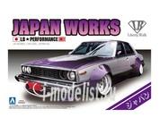 00980 Aoshima 1/24 LB Works Japan 4Dr