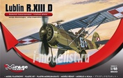 485001 Mirage Hobby 1/48 LUBLIN R.XIII D (Liaison plan / army-cooperation version)