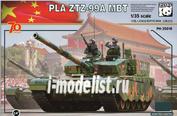 35018 Panda 1/35 PLA ZTZ-99A MBT