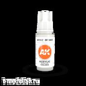 AK11002 AK Interactive Краска акриловая 3rd Generation Offwhite 17ml