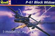 17546 Revell 1/48 Ночной истребитель  Northrop P-61 Black Widow