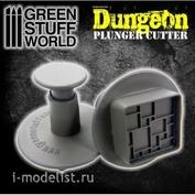 1639 Green Stuff World Инструмент для создания пола в подземелье / Dungeon Plunger Cutter