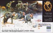 3518 MasterBox 1/35 Немецкие панцергренадеры (1939-1942)