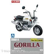 05870 Aoshima 1/12 Honda Gorilla Custom Takegawa Ver.1