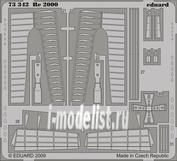 73342 Eduard 1/72 Фототравление для Re 2000 S.A.    ITA