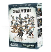 70-53 Warhammer 40.000 Start Collecting! Space Wolves (Набор из 14 фигур