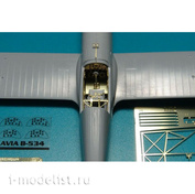 BRL72007 Brengun 1/72 Фототравление для AVIA B-534 IV.serie