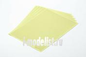 87129 Tamiya Маскирующая наклейка с разметкой в виде 1мм сетки (размер 240х180мм, 5 листов)