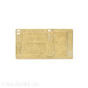 035260 Микродизайн 1/35 Фототравление ящика ЗИП (ранний) для танка КВ