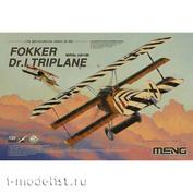 QS-003 Meng 1/24 Fokker Dr.I Triplane
