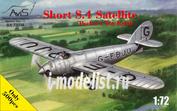 72034 Avis 1/72 Самолет Short S.4 Satellite