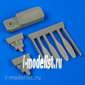 QB48 656 QuickBoost 1/48 Набор дополнений к C-45 propellers w/tool