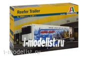 3904 Italeri 1/24 Трейлер-холодильник