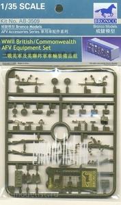 AB3509 Bronco 1/35 WWII British/Commonwealth AFV equipment