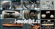26001 Italeri 1/48 Набор улучшений для самолета А-10А (A-10A Super Detail Sets)