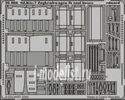 36066 Eduard 1/35 Фототравление для Sd.Kfz.7 Zugkraftwagen 8t tool boxes