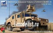 CB35136 Bronco 1/35 M1114 Up-Armoured Vehicle w/ Xm153 Crows II