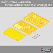 L3511T Great Wall Hobby 1/35 Набор фототравления для sWS 60cm infrared searchlight