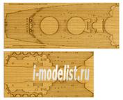 12645 Tamiya 1/350 Набор наклеек имитирующих деревянную палубу для Ямато (78025)