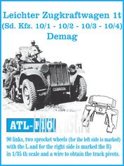 Atl-35-110 Friulmodel 1/35 Leichter Zugkraftwagen 1t Demag
