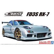 06302 Aoshima 1/24 C-West FD3S RX-7 '99