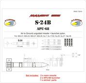 RVAC72010 R.V.AIRCRAFT 1/72 S-24B + APU-68