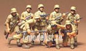 35037 Tamiya 1/35 Немецкие солдаты африканского корпуса, 8 фигур