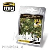 AMIG8460 Ammo Mig MEADOW FLOWERS MIX COLORS (Луговые цветы для диорамы)