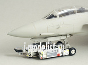 NS72061 North Star 1/72 U.S. Navy A/S32A-32A Hangar Deck Tractor (Full resin kit with PE and decal)