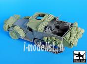 T35034 Black dog 1/35 US M2 big accessories set for Dragon