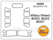 35005 KV Models 1/35 Маска для автомобиля У@3-469