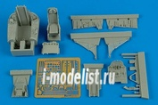 4568 Aires 1/48 Набор дополнений F-100C Super Sabre - early cockpit set