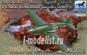 FB4008 Bronco 1/48 Curtiss P-40C `Warhawk` Fighter (US Army Air Force)