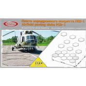 144001 GMU 1/144 Плиты аэродромного покрытия ПШ-1