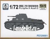 PS720001 S-Model 1/72 Pz.Kpfw II Ausf. C