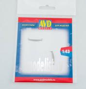 AVD243012202 AVD Models 1/43 Пила поперечная двуручная, 2 шт