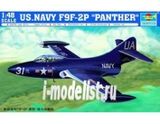 """02833 Trumpeter 1/48 US.NAVY F9F-2P """"PANTHER"""""""