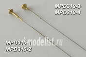 MPD310 Model Point 1/35 Antenna input for BTT equipped with R-123/123M, R-163, R-173 radio stations. For installation on models T-55 (late series), T-62 (late series), T-64, T-72, T-80, T-90, BMP-1/2/3 and BTR-70/80 (all variants)