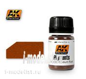 AK043 AK Interactive Dry pigment MEDIUM RUST (light rust)