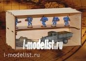 MWP-0010-14 WinModels Модуль-витрина с полочкой